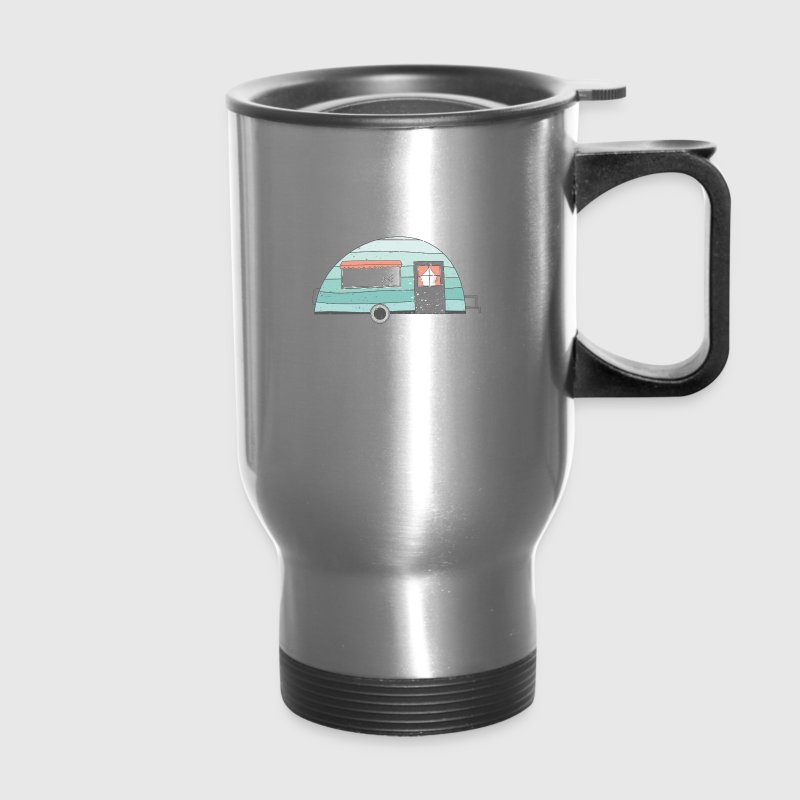 Happy Camper  Mugs & Drinkware - Travel Mug