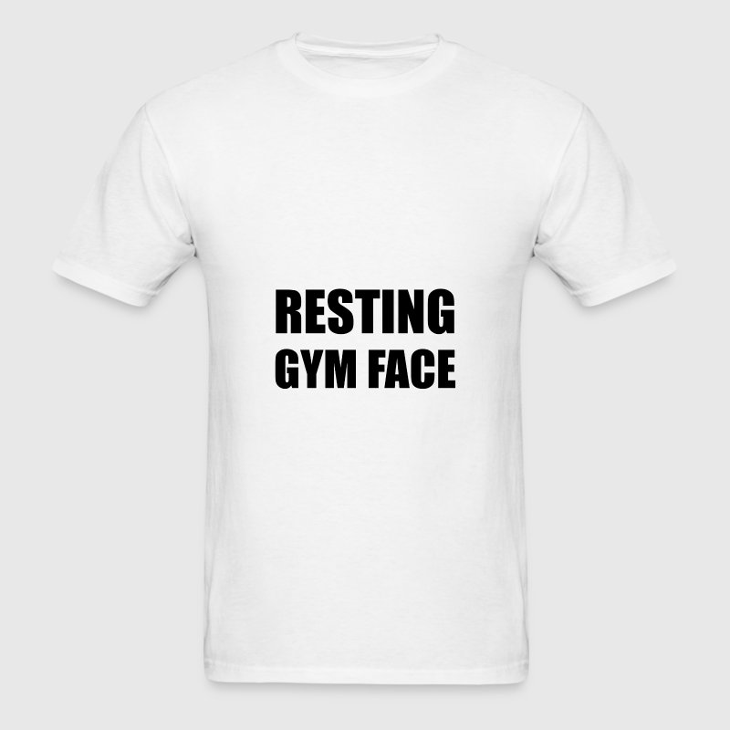 Resting Gym Face - Men's T-Shirt