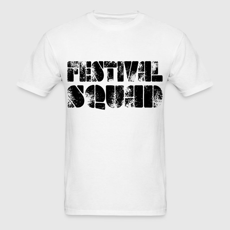 Festival Squad black T-Shirts - Men's T-Shirt