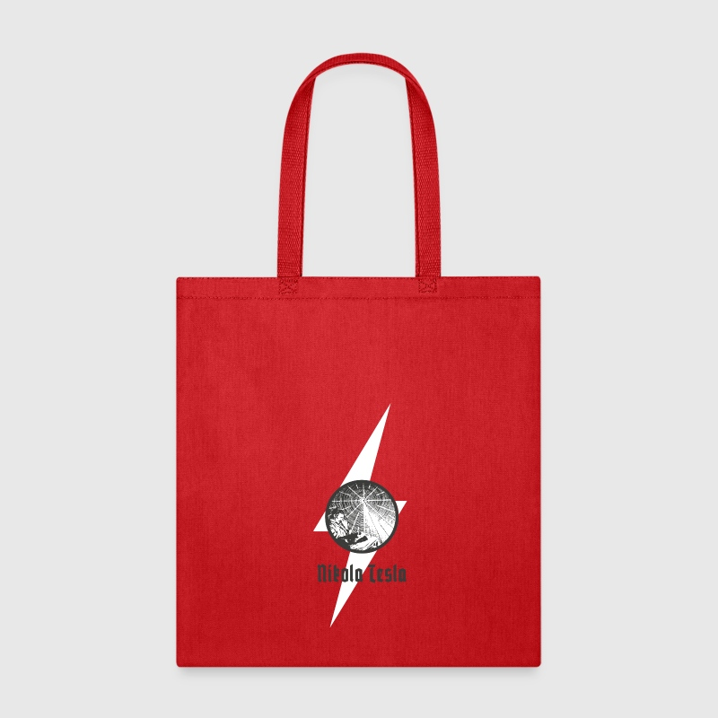 Nikola Tesla the great inventor of AC Bags & backpacks - Tote Bag