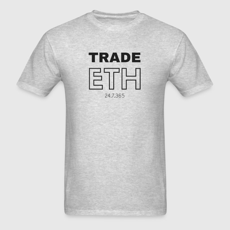 TRADE ETH Cryptocurrency - Men's T-Shirt