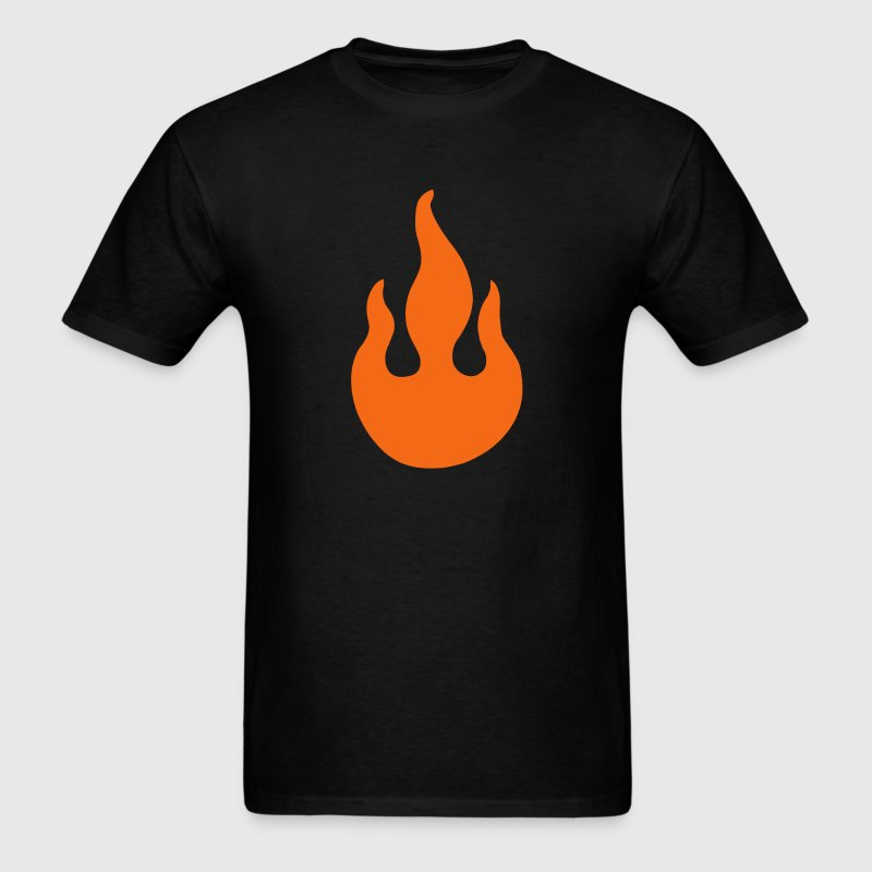 Flame Symbol T-Shirts - Men's T-Shirt