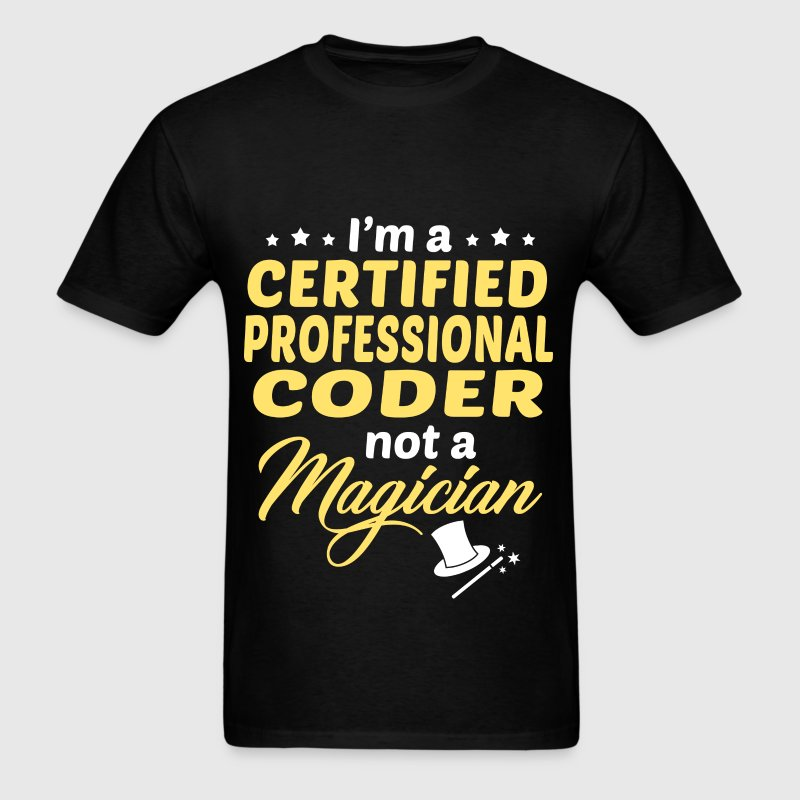 Certified Professional Coder - Men's T-Shirt