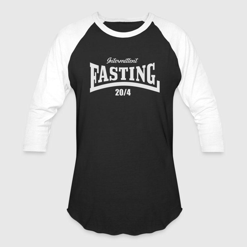 Intermittent Fasting 20 4 T-Shirts - Baseball T-Shirt