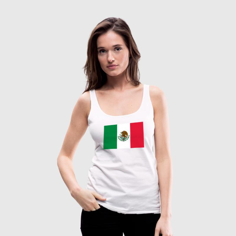 Mexican Flag   - Women's Premium Tank Top