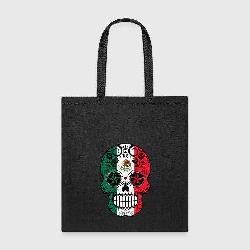 Mexican Sugar Skull Bags & backpacks - Tote Bag