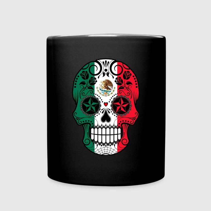 mexican sugar skull mugs drinkware full color mug