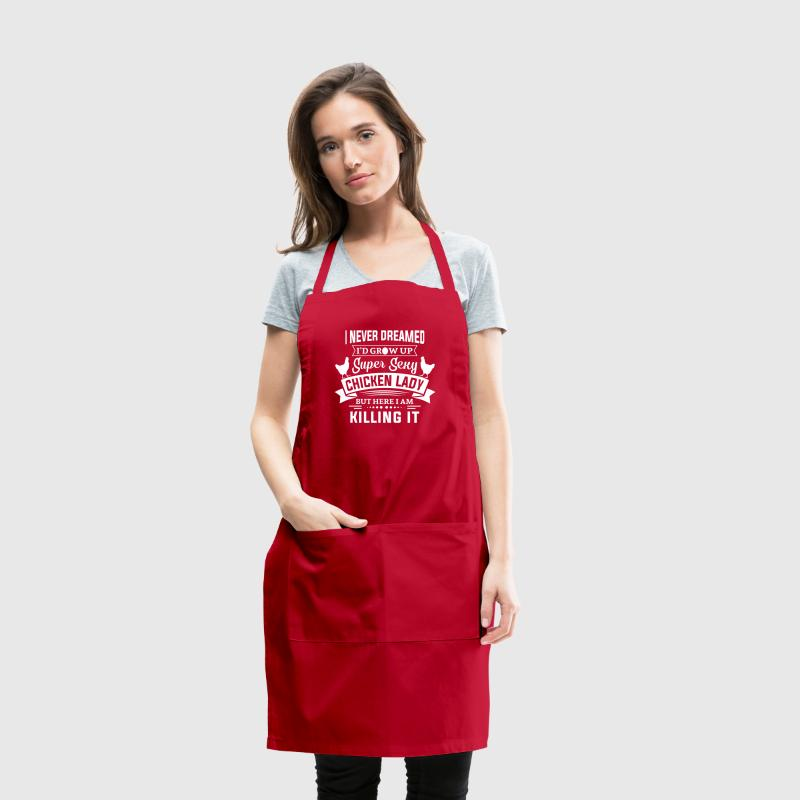 Super Sexy Chicken Lady Aprons - Adjustable Apron
