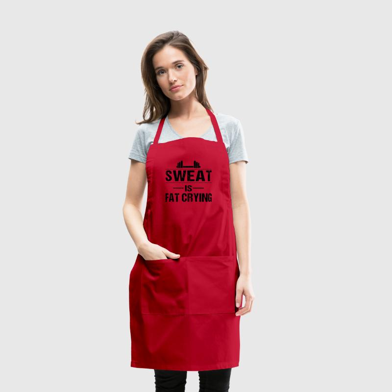Sweat is fat crying Aprons - Adjustable Apron