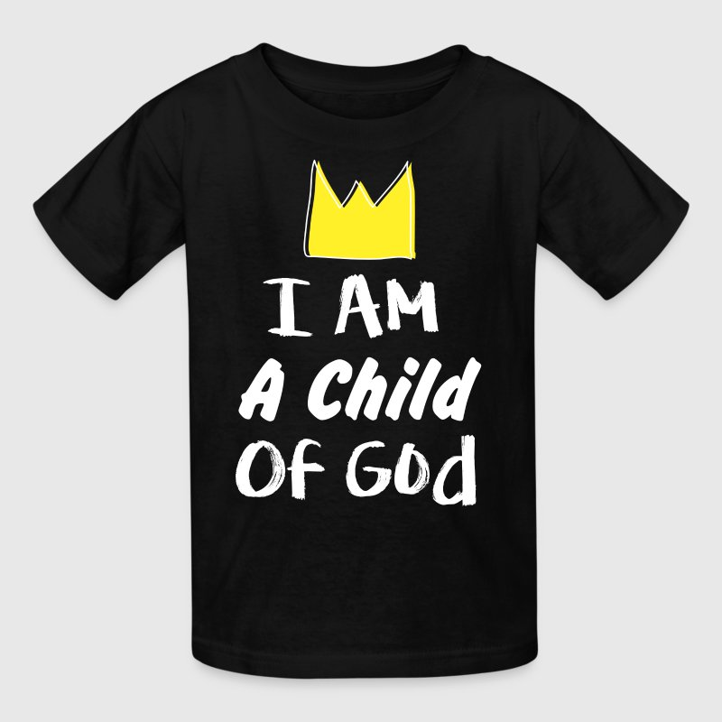 i am a child of god T-shirt Christian God Religion - Kids' T-Shirt