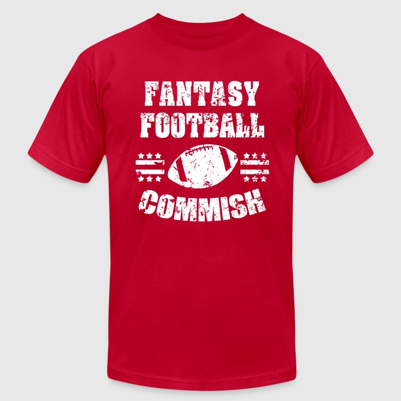 Fantasy Football Commish Funny Shirt - Men's T-Shirt by American Apparel