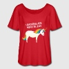Unicorns Are Born In July T-Shirts - Women's Flowy T-Shirt