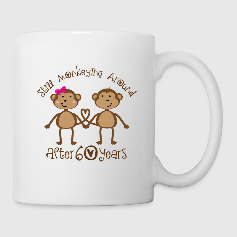 Funniest Wedding Gifts: Funny 60th Wedding Anniversary Gift For Couples Mug