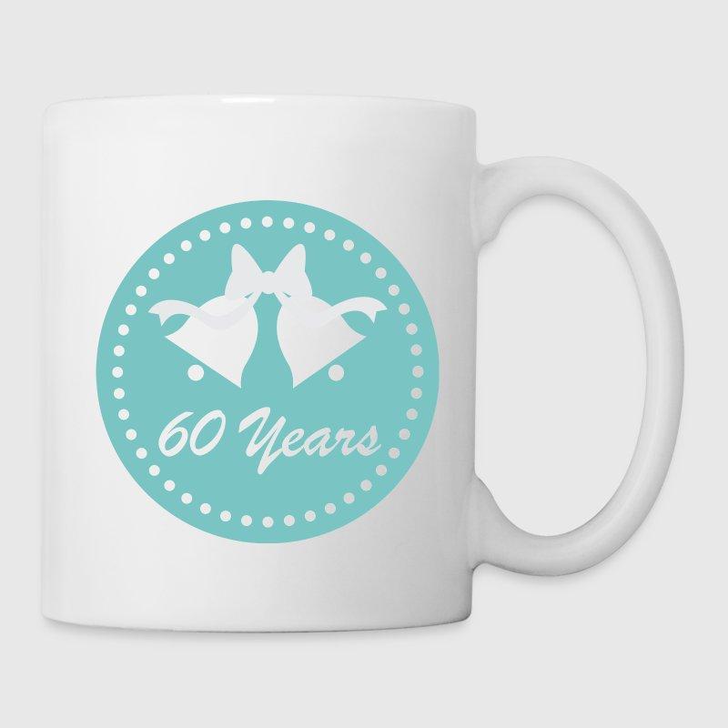 60 Years Wedding Anniversary Gifts: 60th Wedding Anniversary 60 Years Gift Mug