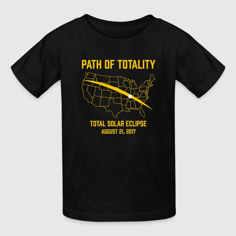 Path Of Totality Total Solar Eclipse - Kids' T-Shirt