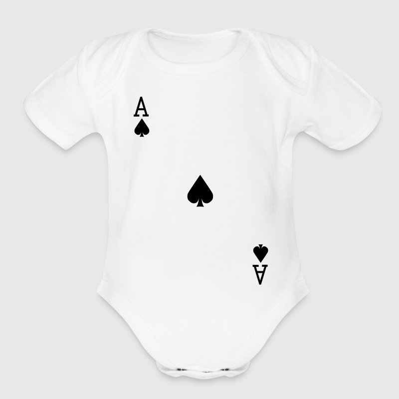 Ace of Spades - VECTOR Baby & Toddler Shirts - Short Sleeve Baby Bodysuit
