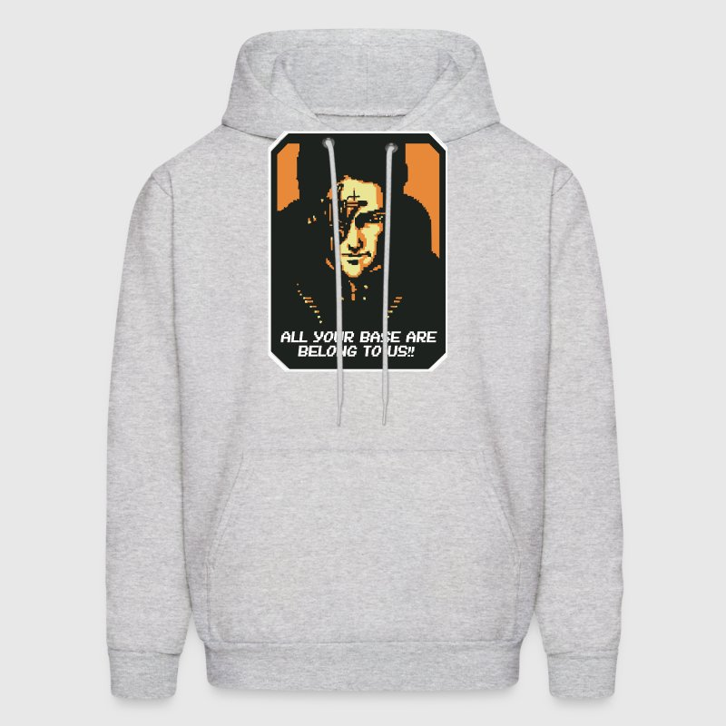 All your base are belong to us!! Hoodies - Men's Hoodie
