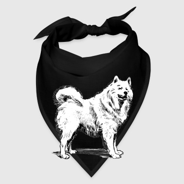 samoyed drawing - Bandana