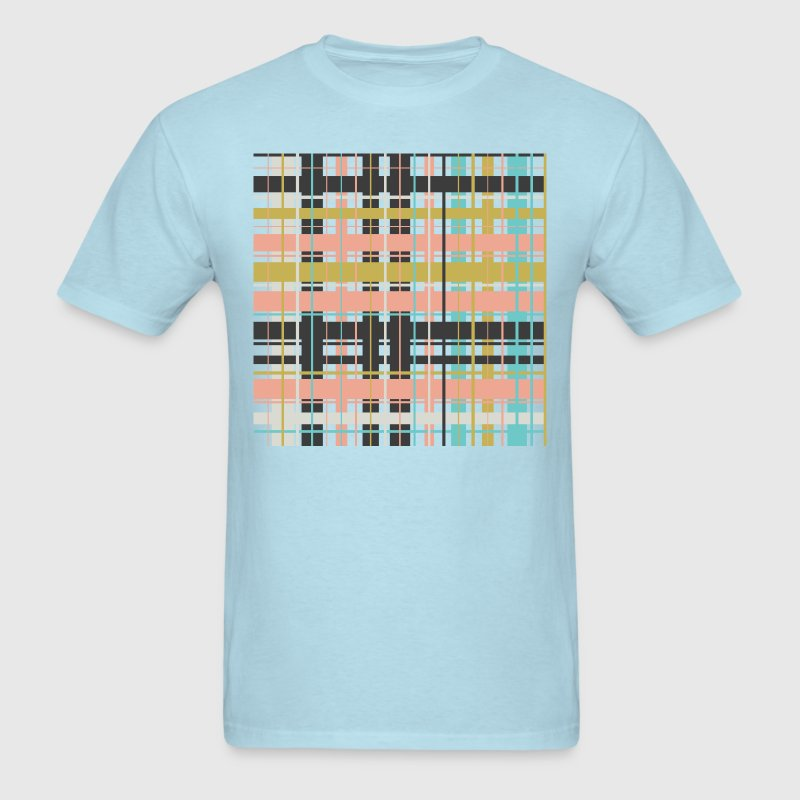 Plaid pattern - Men's T-Shirt