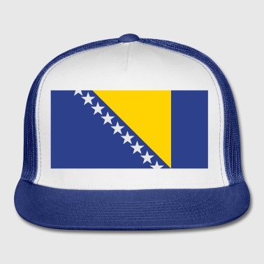Bosnia and Herzegovina Buttons - Trucker Cap
