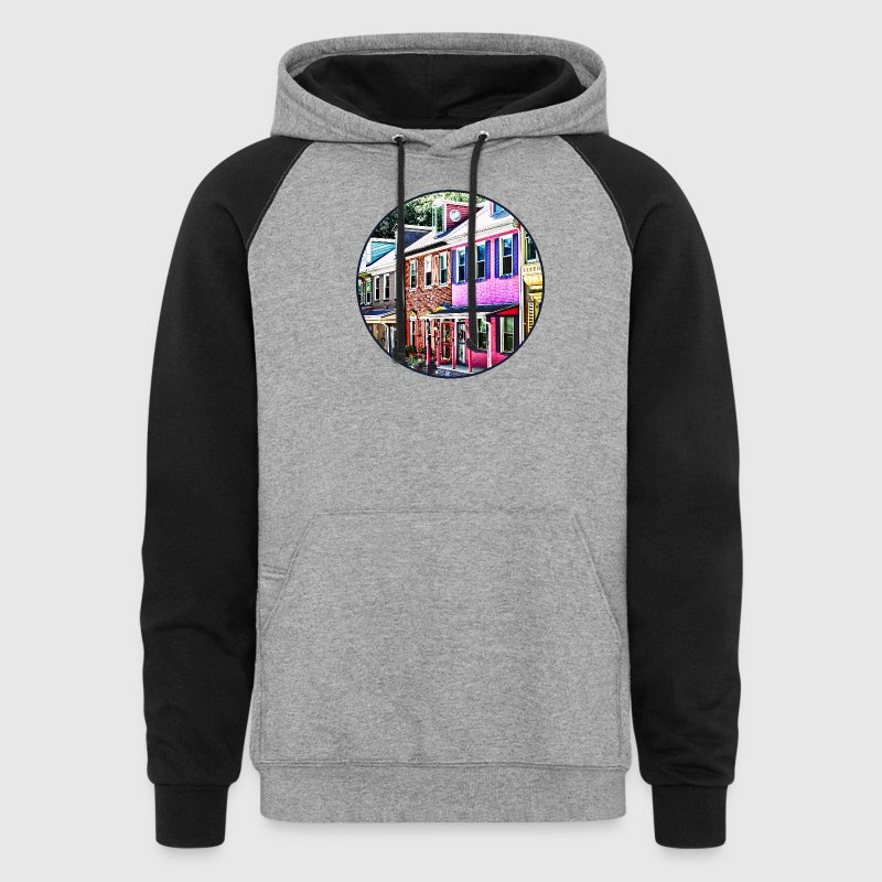 Jim Thorpe Pa - Colorful Hoodies - Colorblock Hoodie