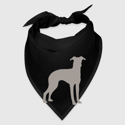 italian greyhound color silhouette - Bandana
