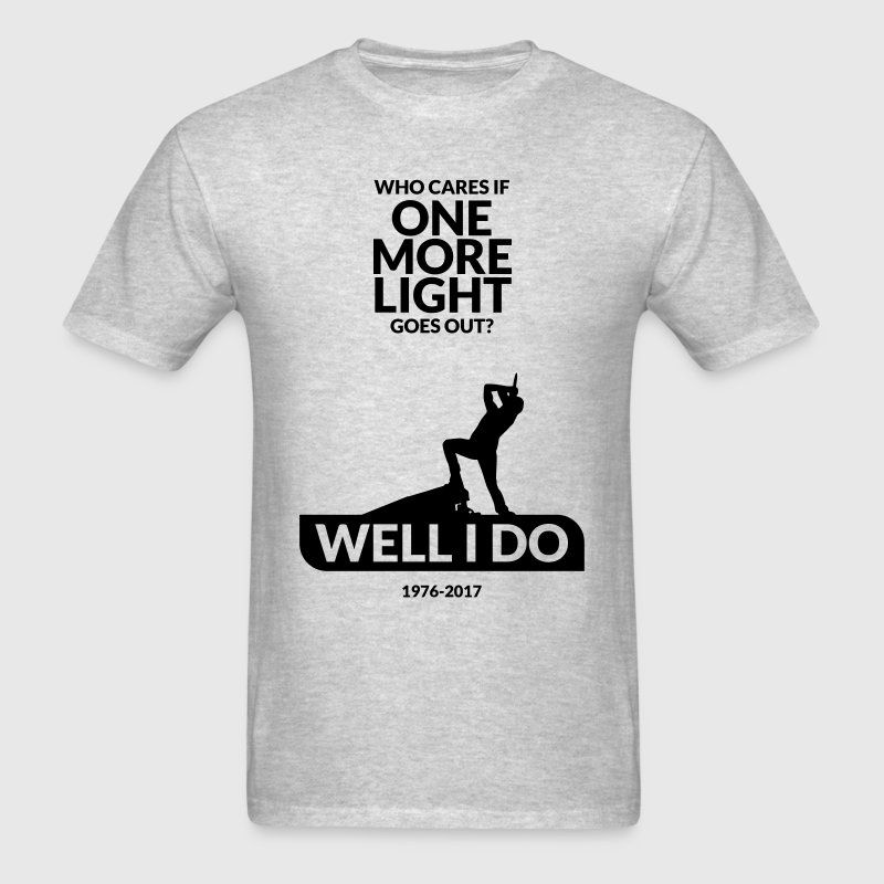 One More Light T-Shirts - Men's T-Shirt