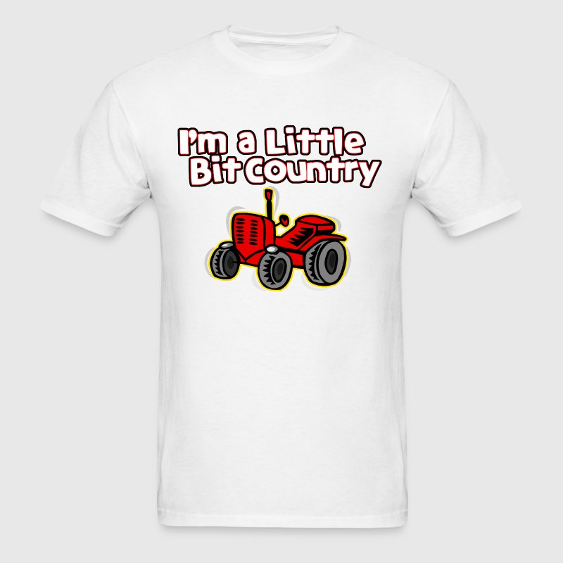 I'm A Little Bit Country - Men's T-Shirt