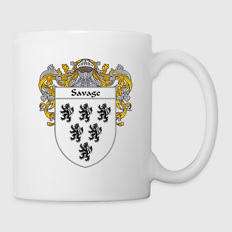 Savage Coat of Arms/Family Crest - Coffee/Tea Mug