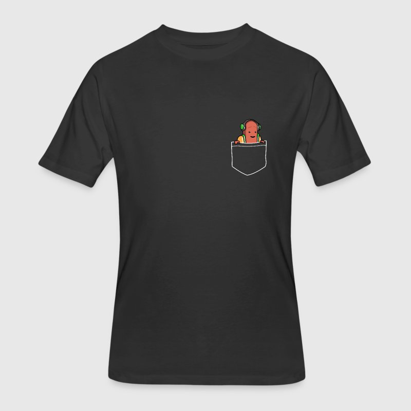 Pocket Hotdog Dancing T-Shirts - Men's 50/50 T-Shirt
