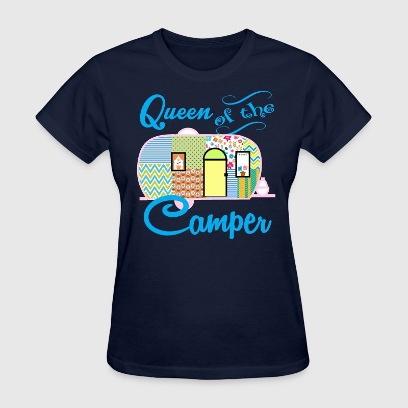 Queen of the Camper - Women's T-Shirt