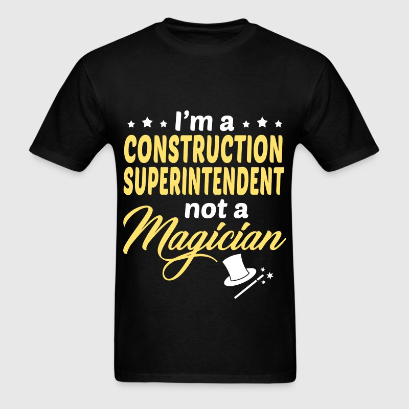 Construction Superintendent - Men's T-Shirt