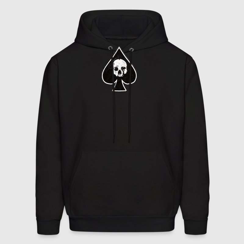 Ace of Spades skull  - Men's Hoodie