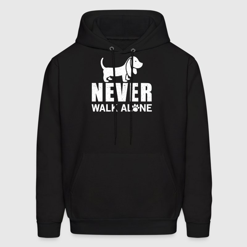 Never walk alone Hoodies - Men's Hoodie