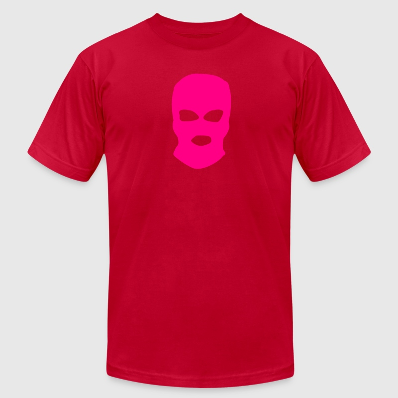pussy riot mask T-Shirts - Men's T-Shirt by American Apparel