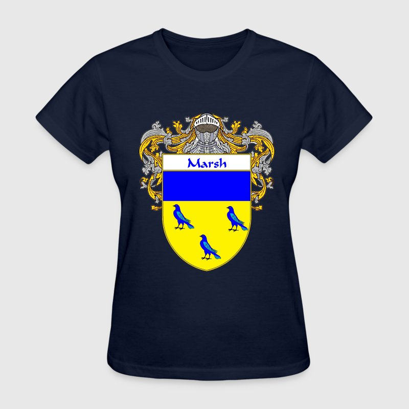Marsh Coat of Arms/Family Crest - Women's T-Shirt