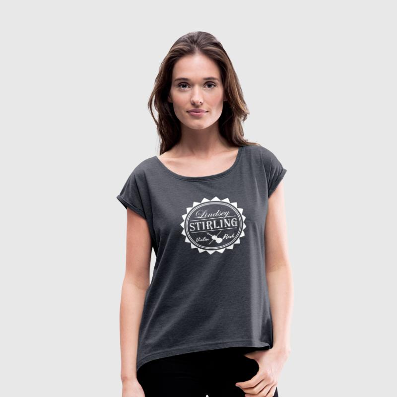 Lindsey Stirling - Women's Roll Cuff T-Shirt