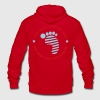 NEIL ARMSTRONG TRIBUTE Hoodies - Unisex Fleece Zip Hoodie by American Apparel