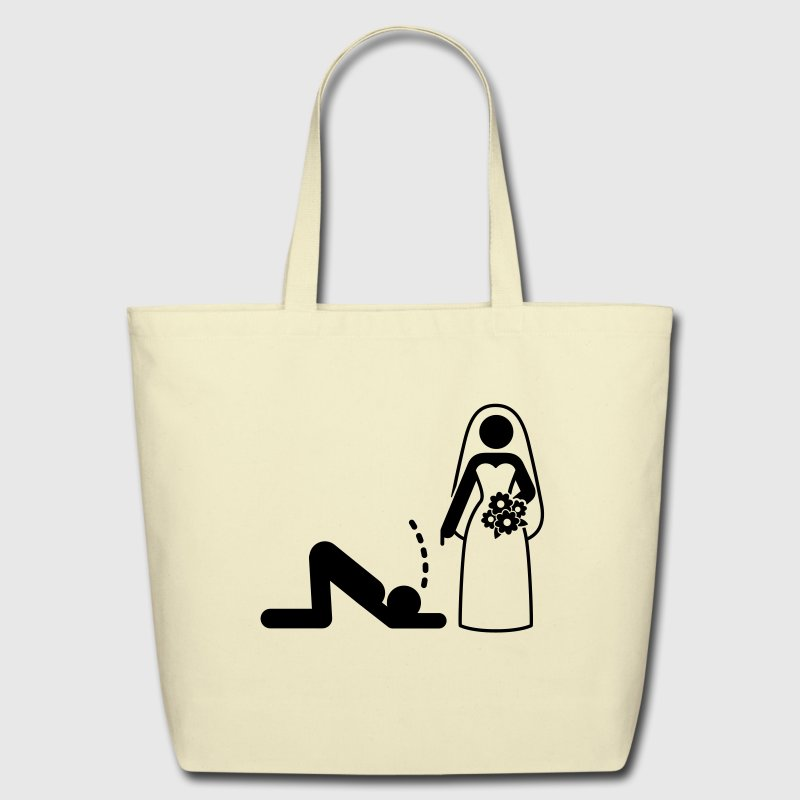 Bride Dominatrix (1c)++ Bags  - Eco-Friendly Cotton Tote