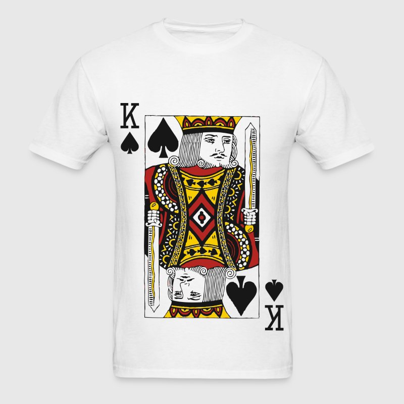 King of Spades T-Shirts - Men's T-Shirt