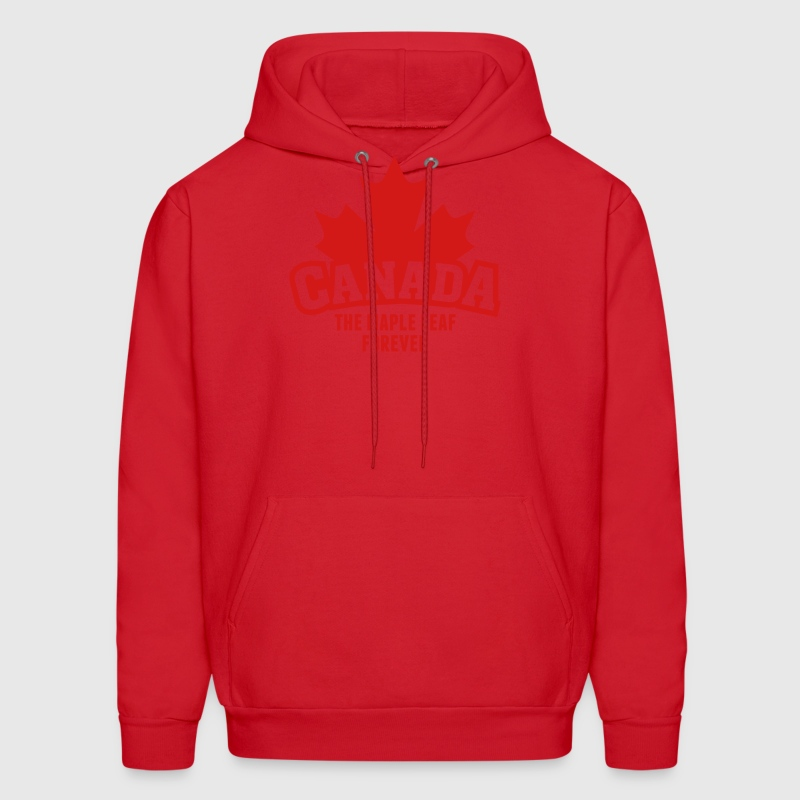 CANADA, THE MAPLE LEAF FOREVER Hoodies - Men's Hoodie