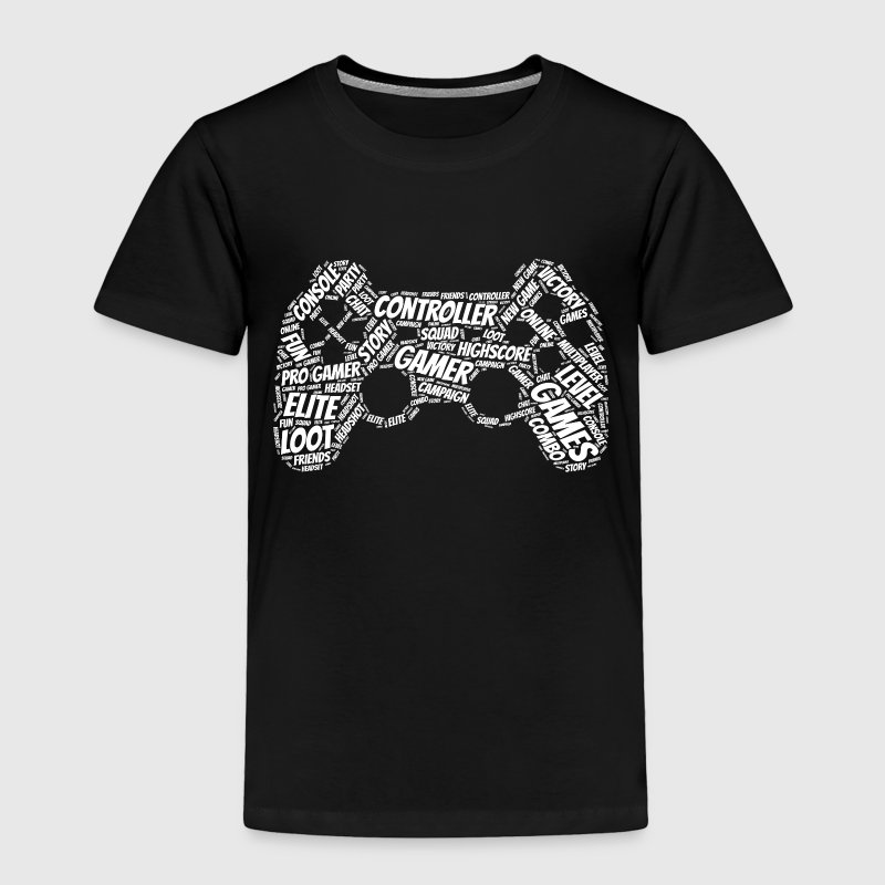 game controller wordart Baby & Toddler Shirts - Toddler Premium T-Shirt