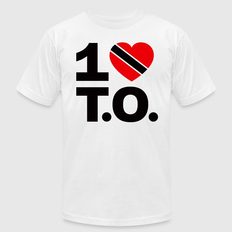 1 ♥ Trinidad T.O. Tee - Men's T-Shirt by American Apparel