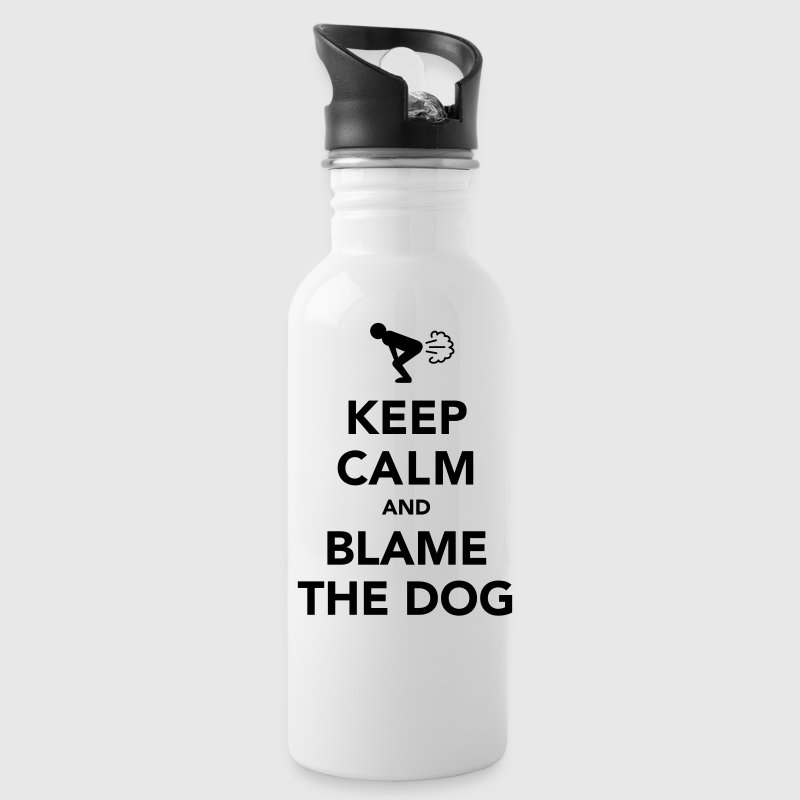Keep Calm And Blame The Dog Accessories - Water Bottle