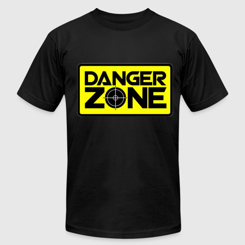 Danger Zone. T-Shirts - Men's T-Shirt by American Apparel