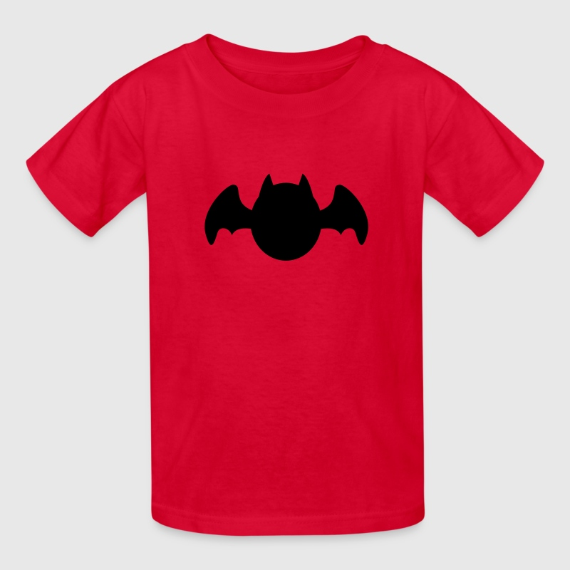 simple cute bat chibi shape Kids' Shirts - Kids' T-Shirt