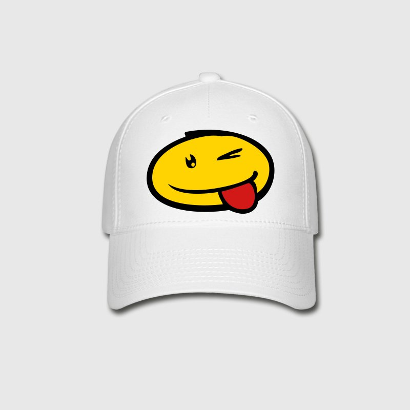 Smiley :P Caps - Baseball Cap