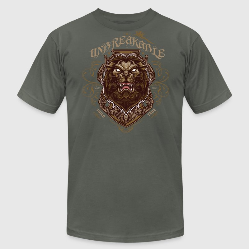 Unbreakable T-Shirts - Men's T-Shirt by American Apparel