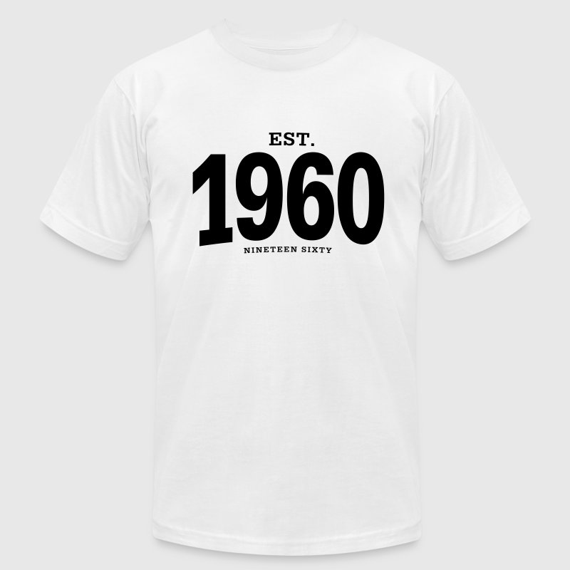 est. 1960 Nineteen Sixty - Men's T-Shirt by American Apparel