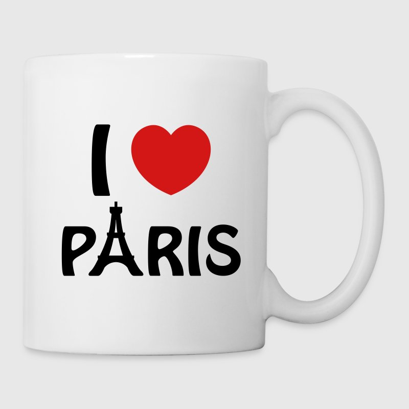 I Love Paris - Coffee/Tea Mug